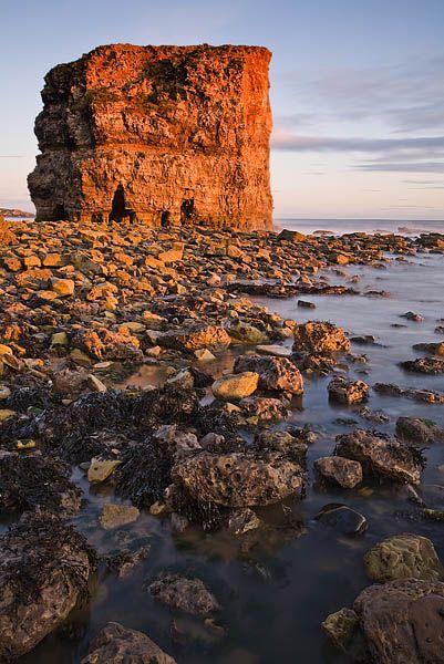 Marsden Rock, Marsden, South Shields, Tyne & Wear, England by Gary Waidson