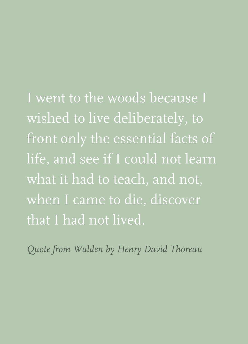 quote from walden by