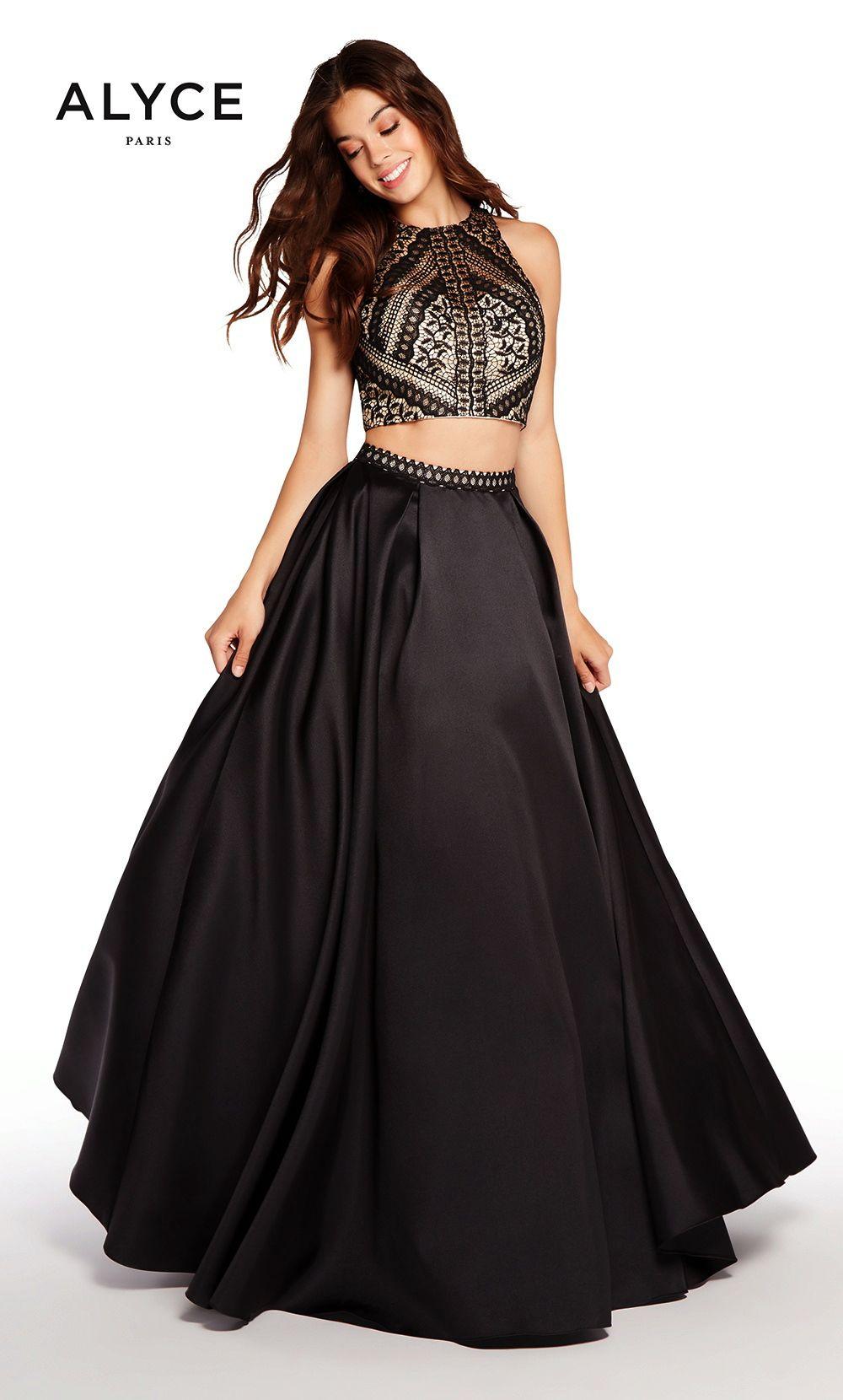 Prom dresses evening dresses by alyce parisucbrueaayucbruetwo piece