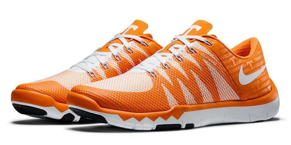 c5cf564d7d08c Nike Free Trainer 5.0 V6 AMP Tennessee Volunteers Mens Shoes 9 White 723939  810  Nike  RunningCrossTraining