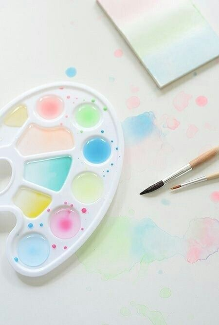 Aesthetic Pastel Watercolour With Images Pastel Aesthetic