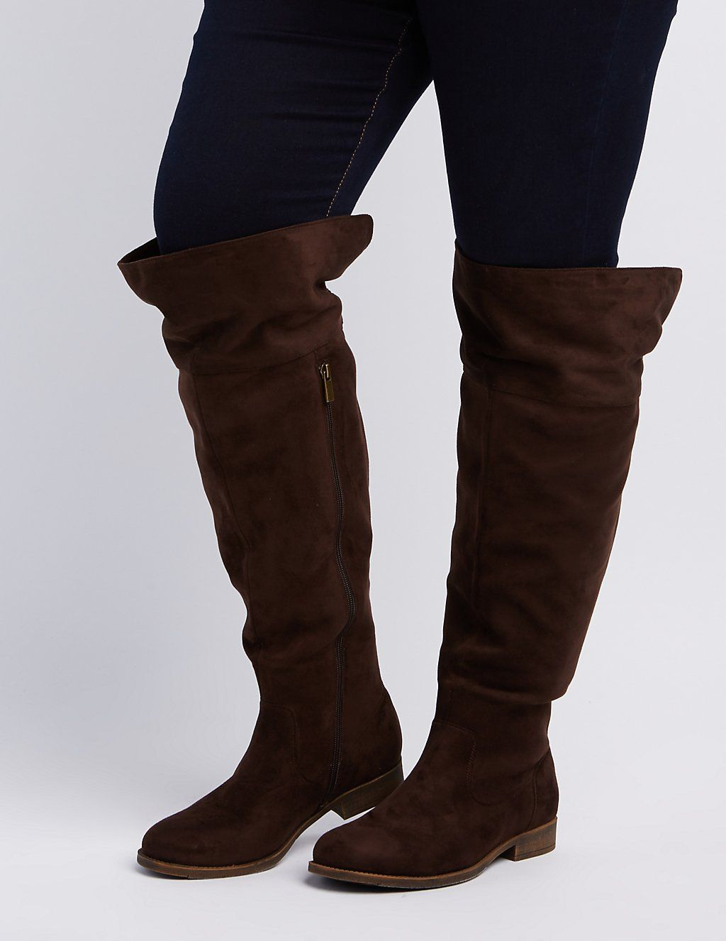 ea14ebae182 Plus Size Wide Calf Over-The-Knee Boots