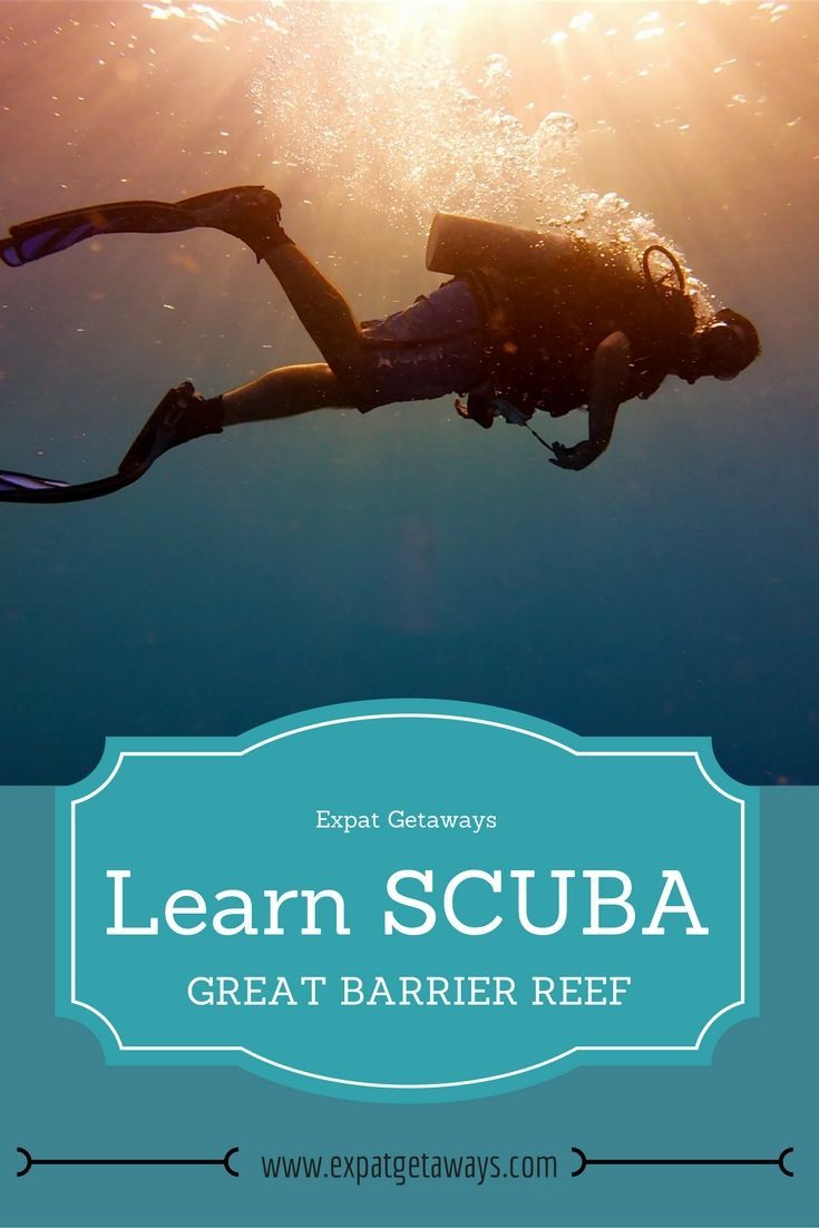 Learn Scuba On The Great Barrier Reef Great Barrier Reef Travel Impressions Scuba