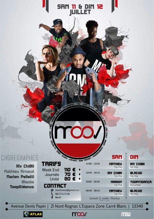 Célèbre Création Graphique pour l'événement #MooV Par #KevITou #flyer  RC39