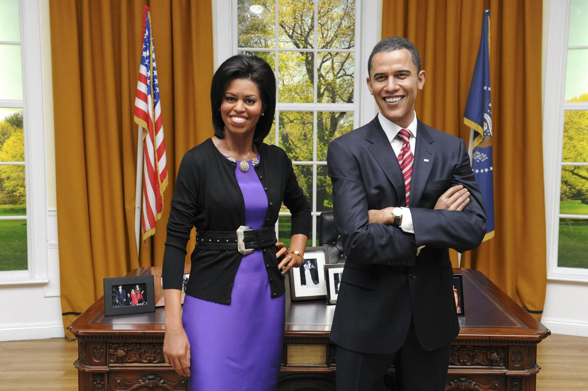 Michelle Obama, Barack Obama, Madame Tussauds, Culture, Paris, Civilization, Le