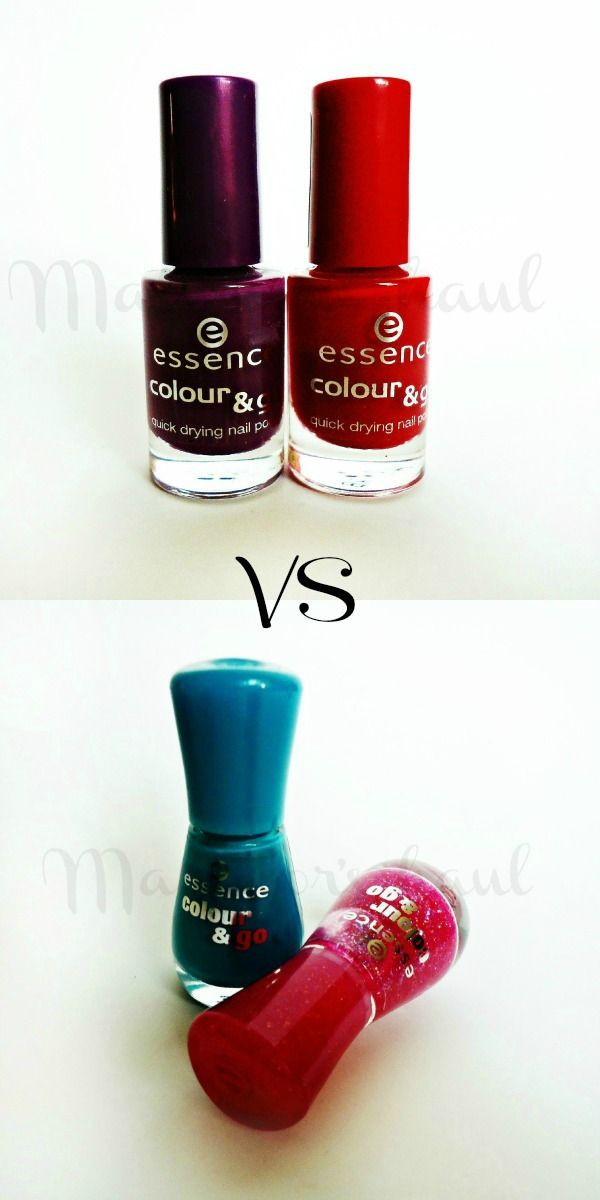 Essence color and go quick drying nail polish old packaging vs ...