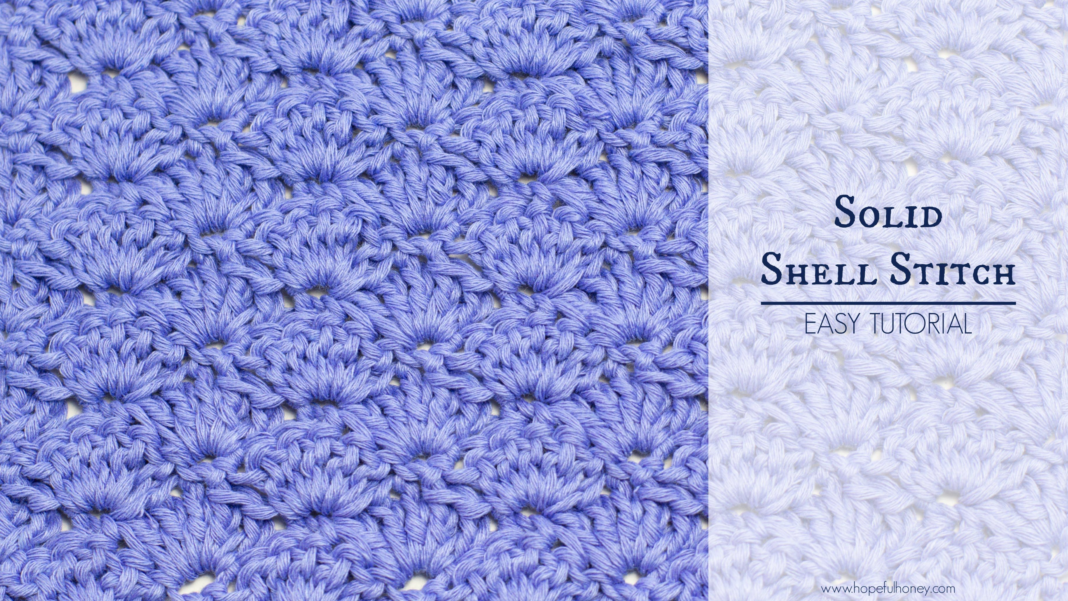 How to crochet the solid shell stitch easy tutorial croc how to crochet the solid shell stitch easy tutorial dt1010fo