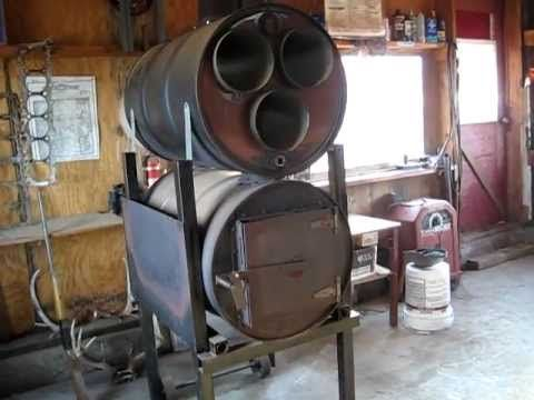 2 Barrel Wood Stove Fire Pinterest Stove Barrels