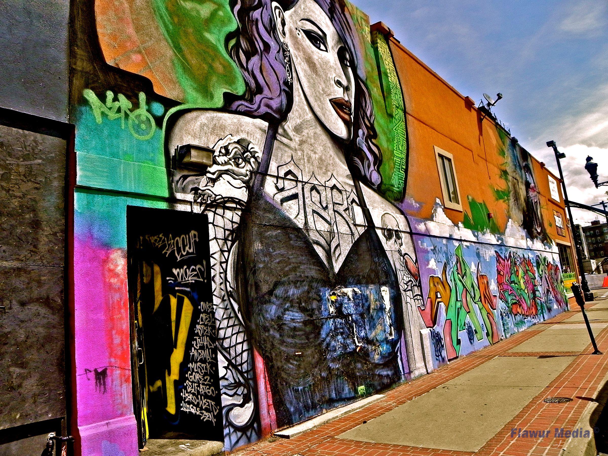 Graffiti wall ann arbor - Graffiti Wall In Salt Lake City