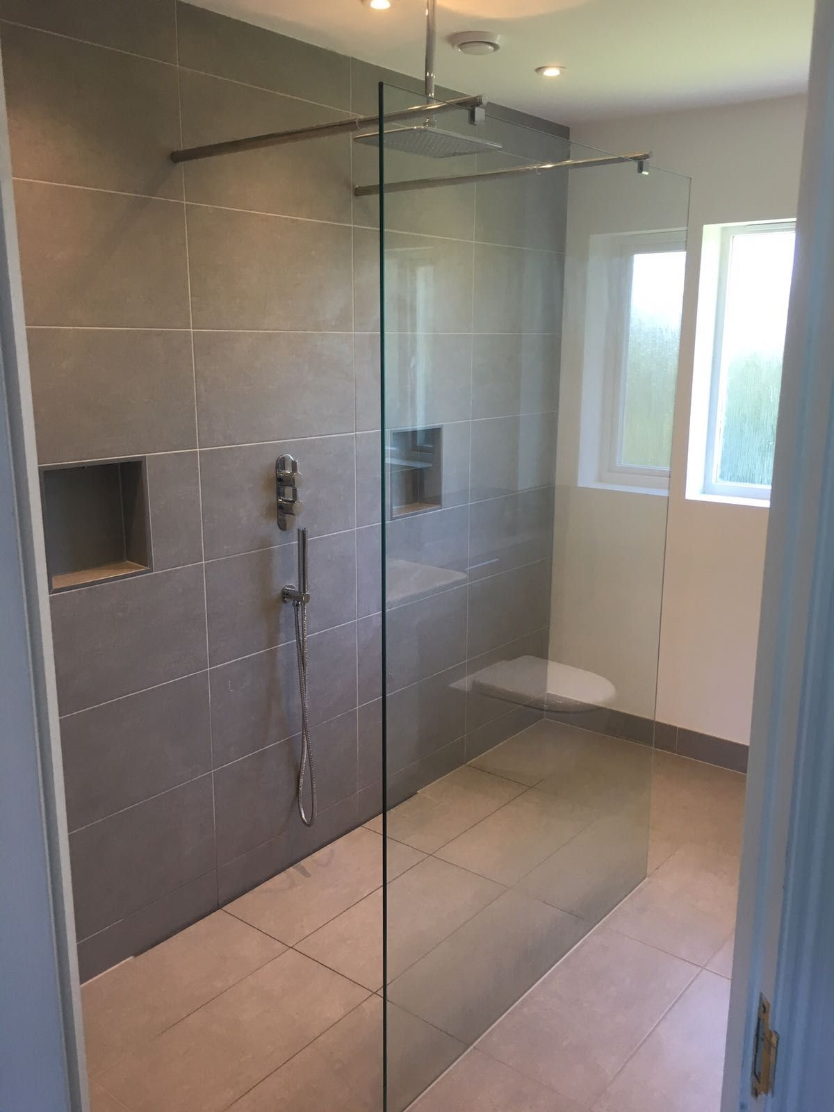 This Walk Through Wetroom Area Was Created With The New Aquatecnic