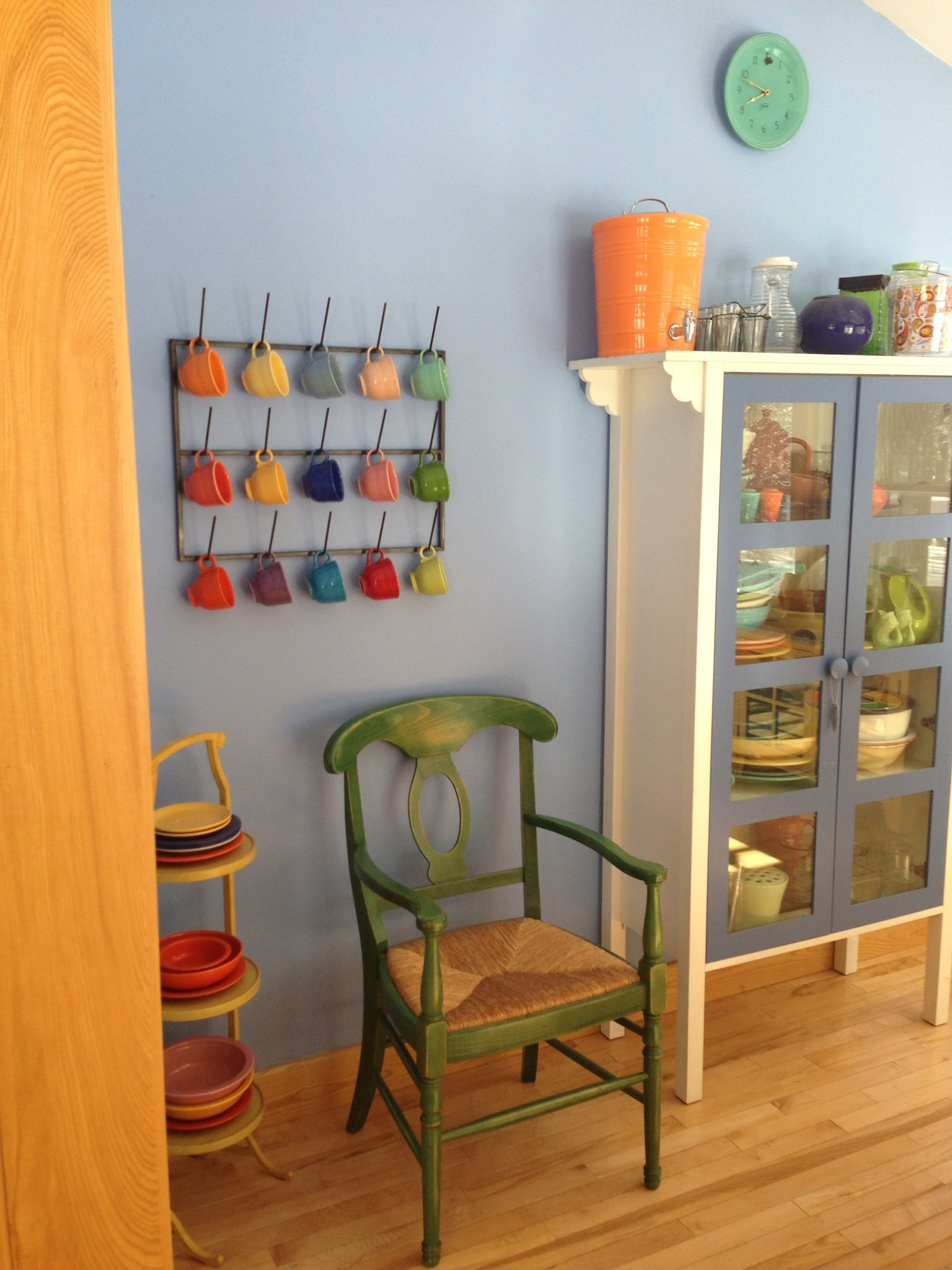 Great Display Storage For Fiestaware Fiesta Kitchen