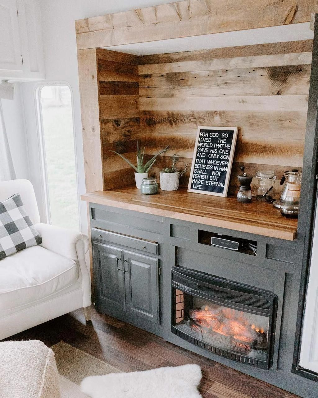 50 Awesome Fireplace Design Ideas For Small Houses