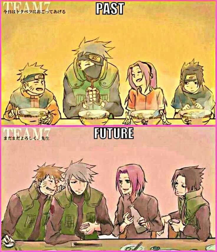 Team 7 past and maybe the future From #Naruto | Naruto ...