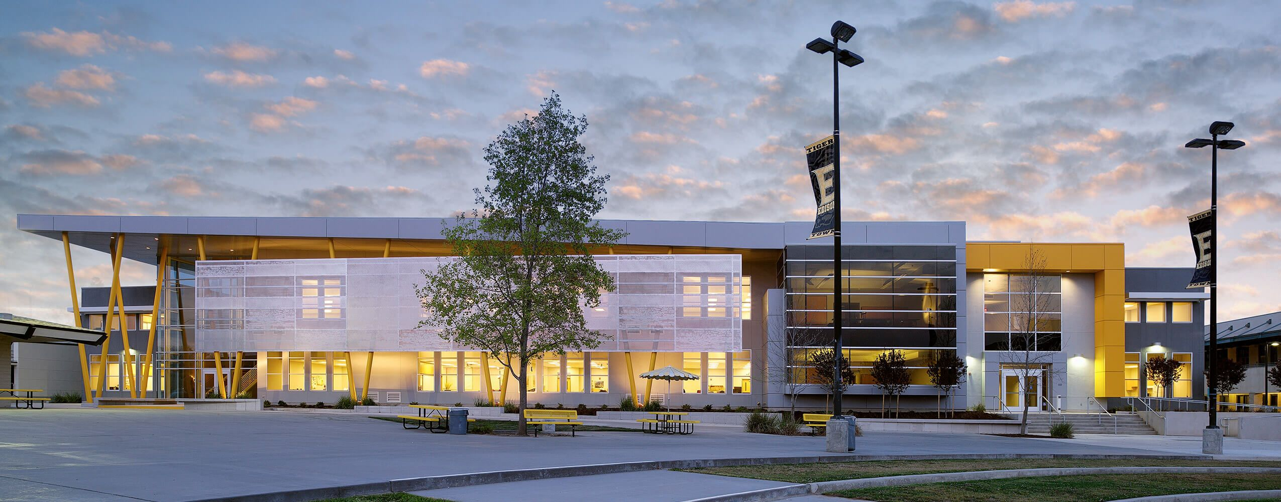 The Edison High School Academic Building by Darden Architects