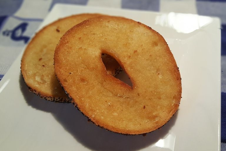 Air Fryer Perfectly Toasted Bagels A K A Toast Butter Toast Butter This Old Gal Air Fryer Recipes Air Fryer Oven Recipes Air Fried Food