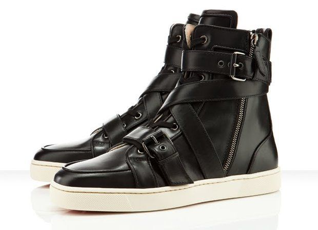 louboutin men's sneakers. toooo amazing.