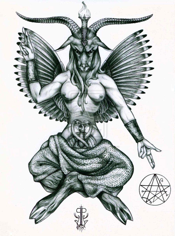 Samael/Baphomet  Silent Hill  | Video Games | Satanic art