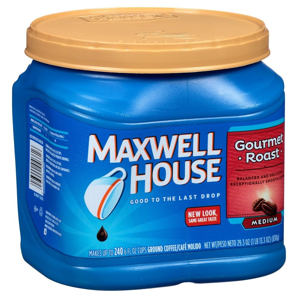 Maxwell House Gourmet Medium Roast Ground Coffee 29.3oz