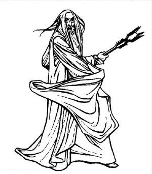 The Lord Of The Rings Character Gollum Coloring Page Lord Of The Rings Coloring Pages Color