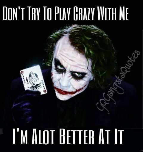 joker sprüche Sure am | Sayings | Joker zitate, Zitate, Sprüche joker sprüche