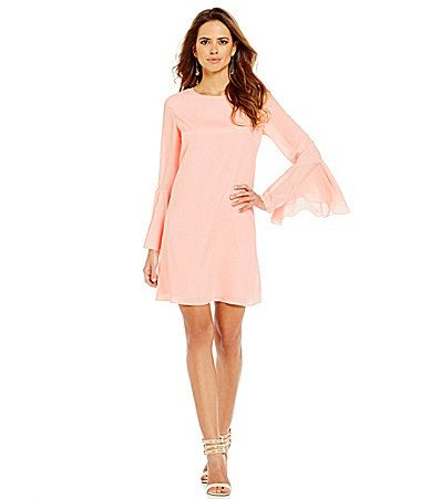 3ac97a4a06f5 Gianni Bini Emily Bell Sleeve Dress #Dillards | Spring Feelin ...
