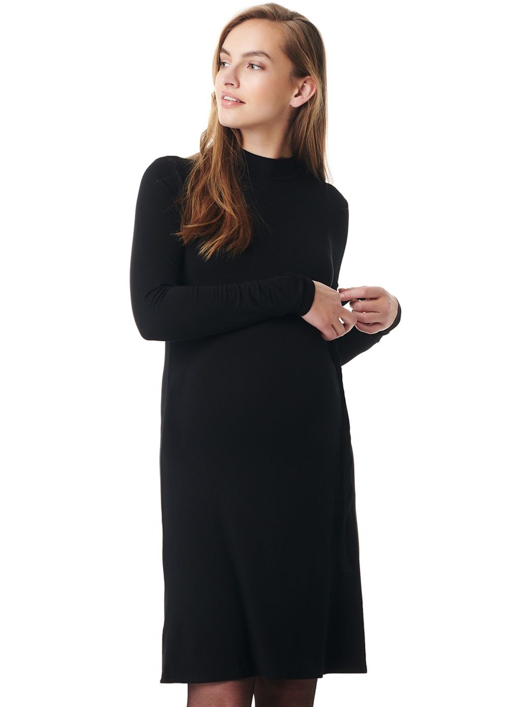 b239d260296d Esprit - Mock Neck Sheath Dress in 2019 | : Little Black Maternity ...