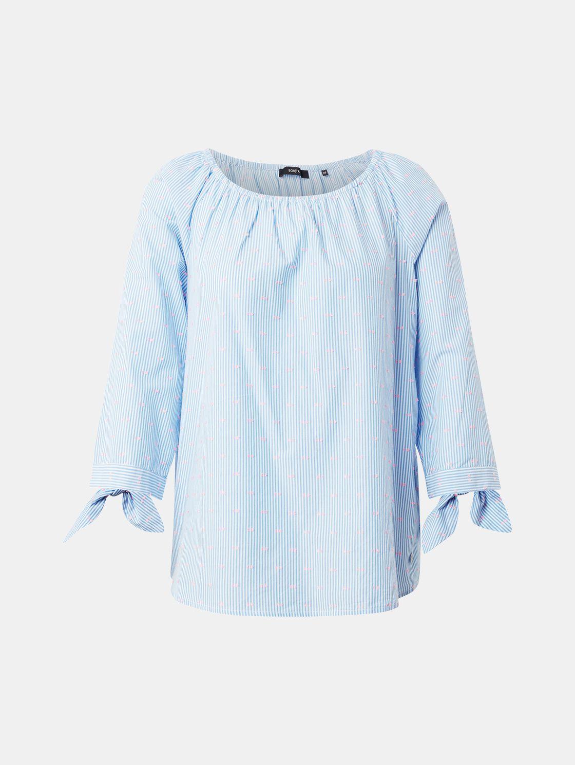 Bonita Damen Shirt mit Streifen 3//4 Arm