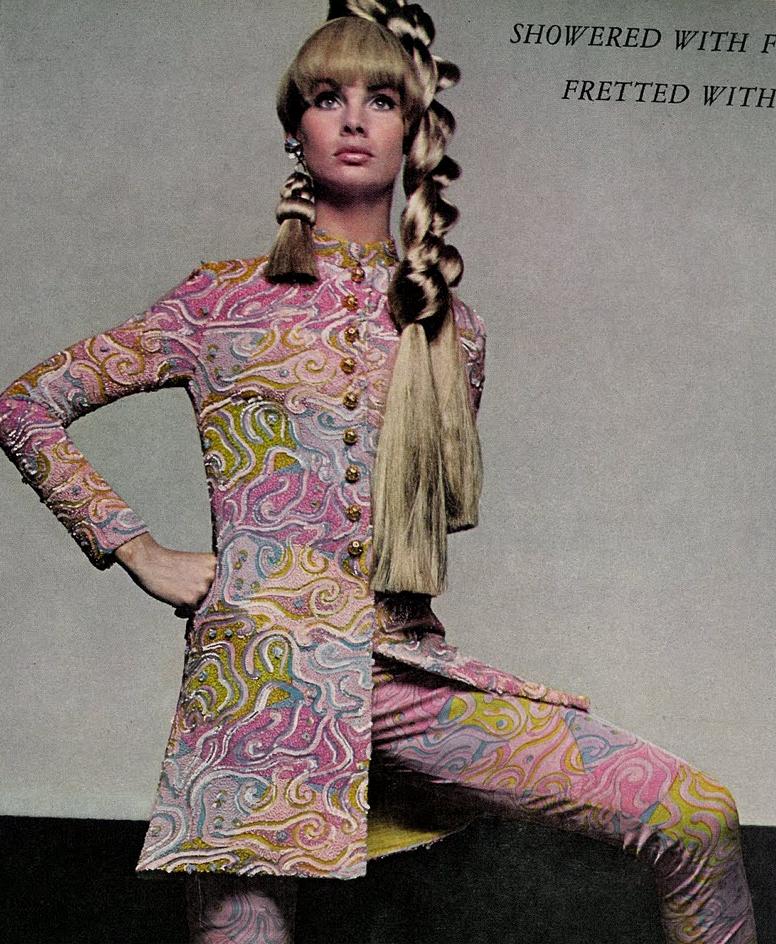 1966 Jean Shrimpton in Vogue