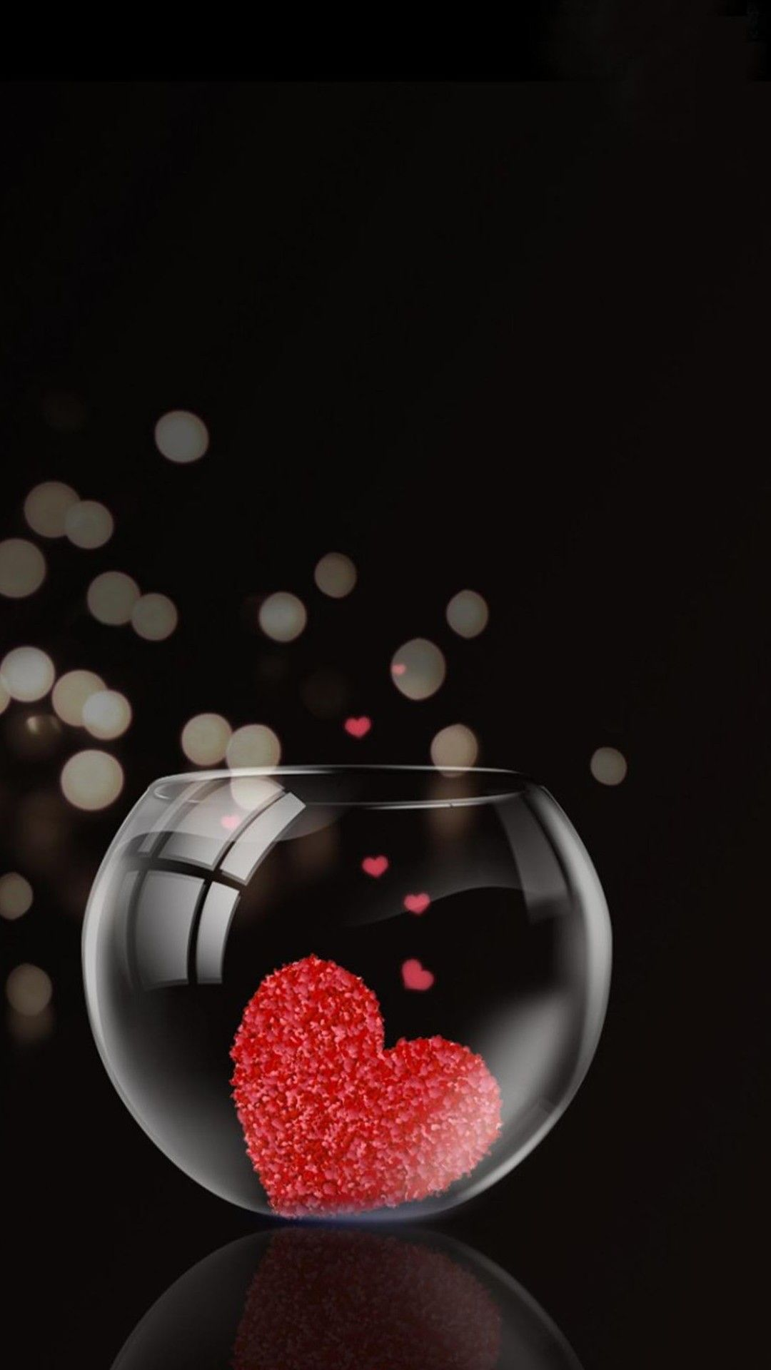 3D Love iPhone Wallpaper Love wallpaper, Heart wallpaper