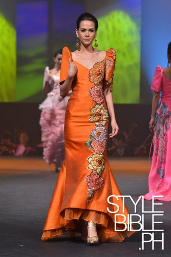 Pitoy Moreno A Color To Die For Filipiniana Dress Modern Filipiniana Dress Modern Filipiniana Gown