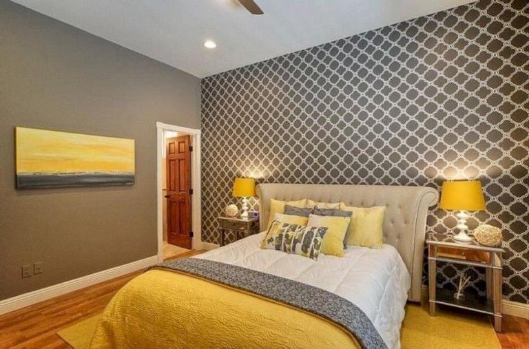 45 Cozy Grey Yellow Bedrooms Decorating Ideas Grey Bedroom Design Yellow Gray Bedroom Yellow Bedroom
