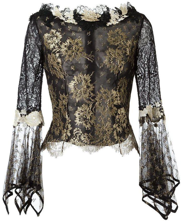28814f273b3 Martha Medeiros lace blouse