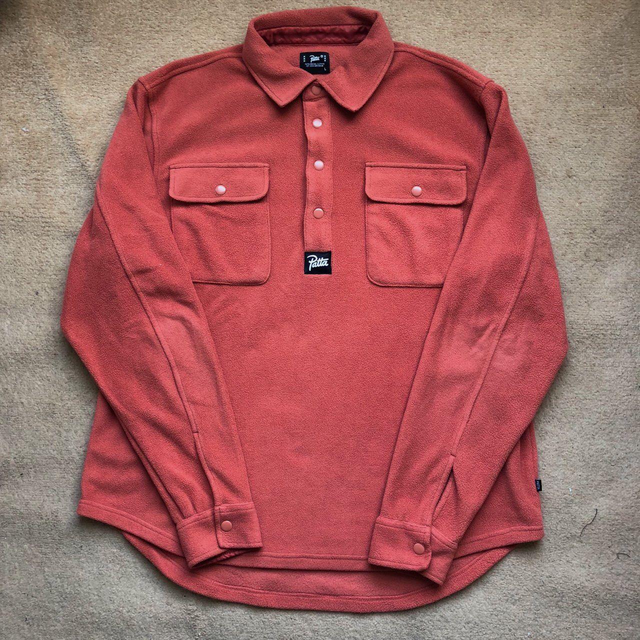 36fa55069120a Patta Pullover Fleece Shirt
