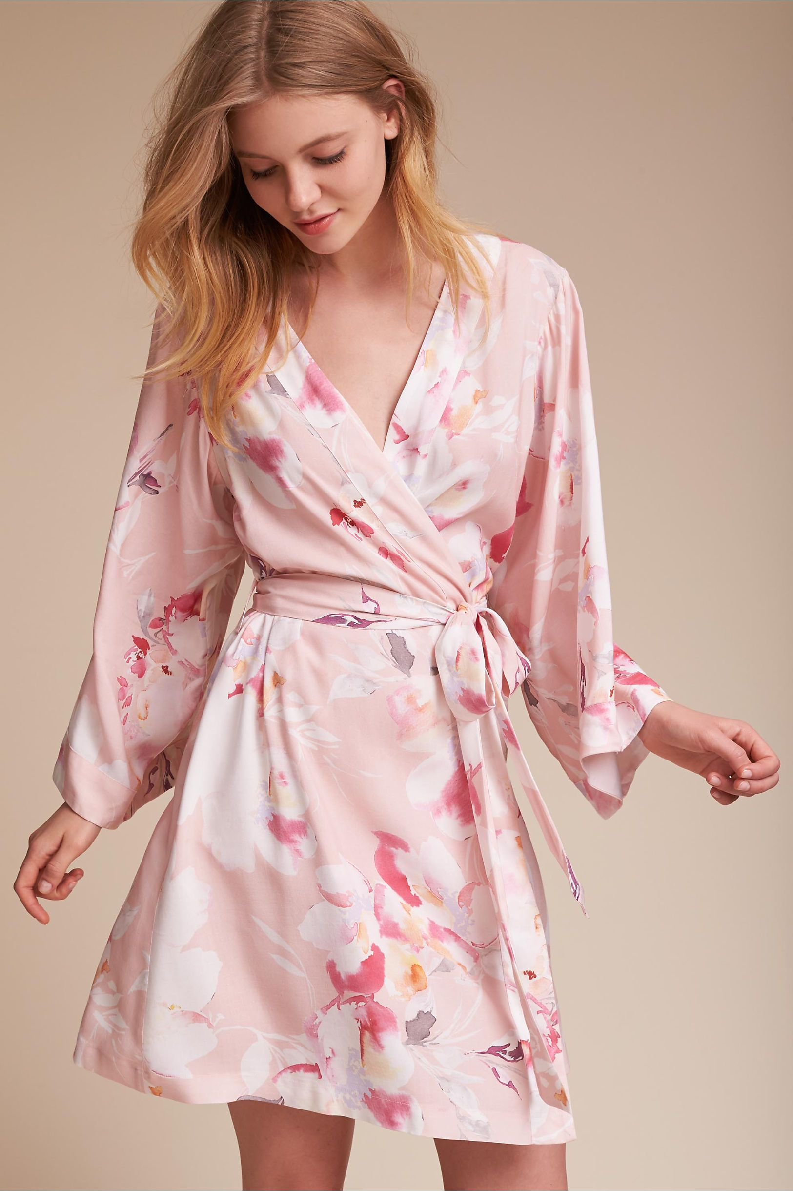 BHLDN Yumi Kim Morning Light Floral Robe in Lingerie & Swim ...