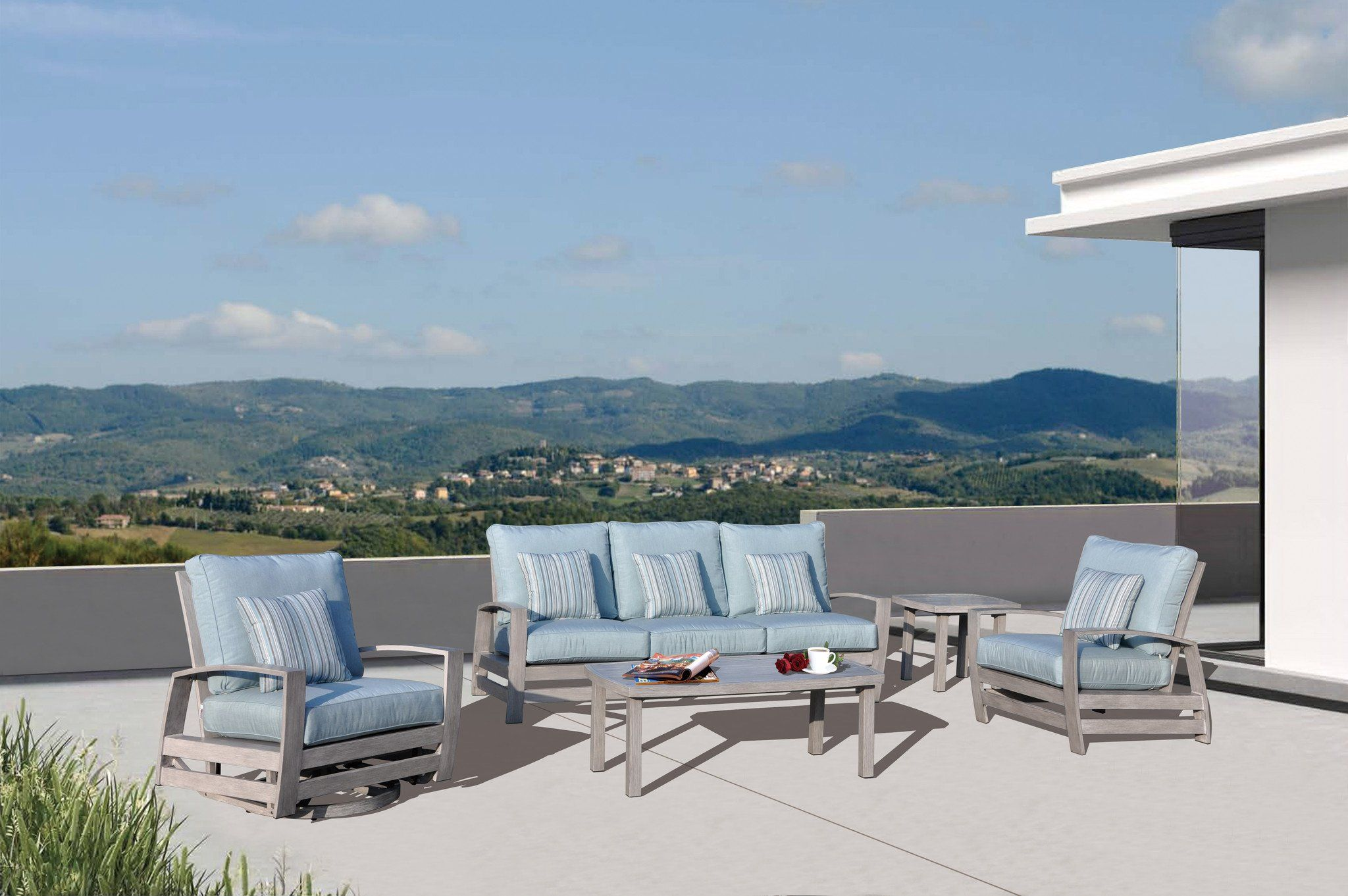 Kingston Casual Symphony Outdoor Aluminum Furniture