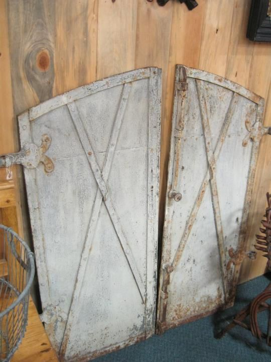 Antique European iron doors. Available at the Brass Armadillo Antique Mall in Denver CO & Antique European iron doors. Available at the Brass Armadillo ...