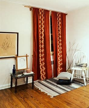 Image result for craftsman curtains