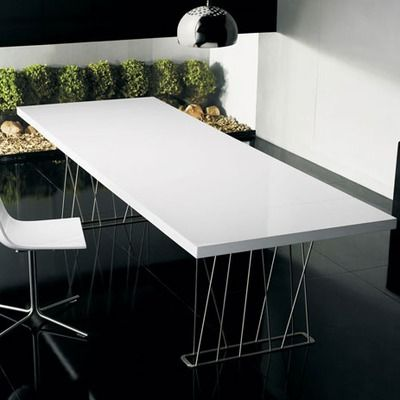 Luxo By Modloft Clarges Dining Table One North Fourth