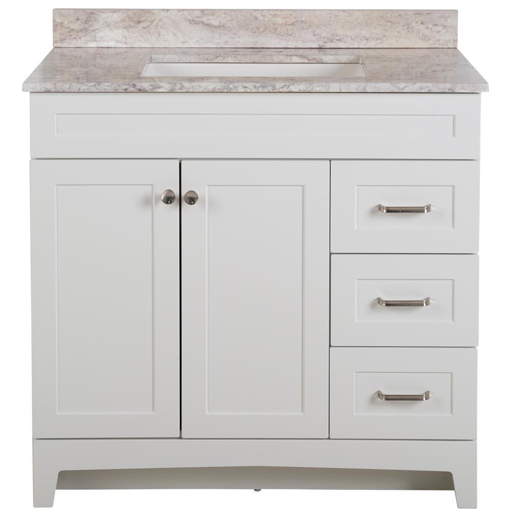 Home Decorators Collection Thornbriar 37 In W X 39 In H Bathroom