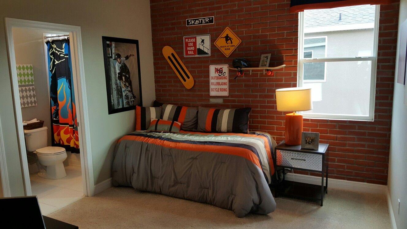 Baseboard themed bedroom | New construction in Winter Garden ...