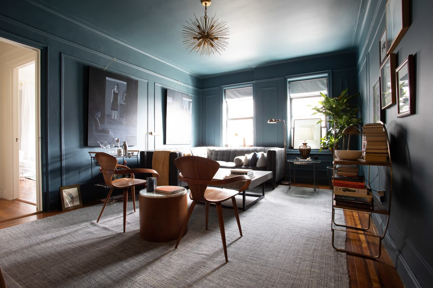 Hoteliers Turn a Cozy NYC Apartment into a Moody, Hygge ...