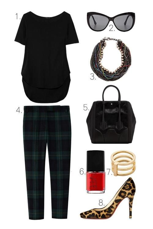 Hello, cute fall style. #Style