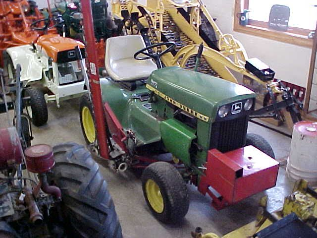 Sears Suburban Garden Tractor Sickle Bar Mower   Gardening: Flower