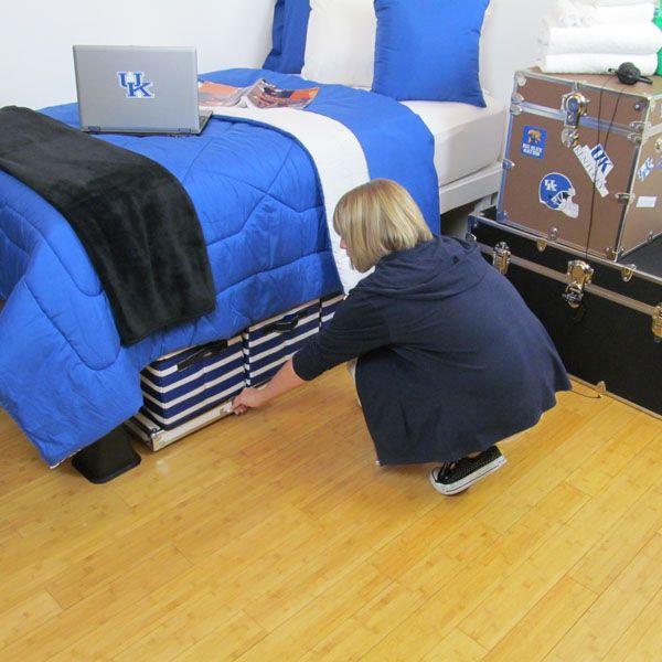 Dorm Room Storage Options! like the idea