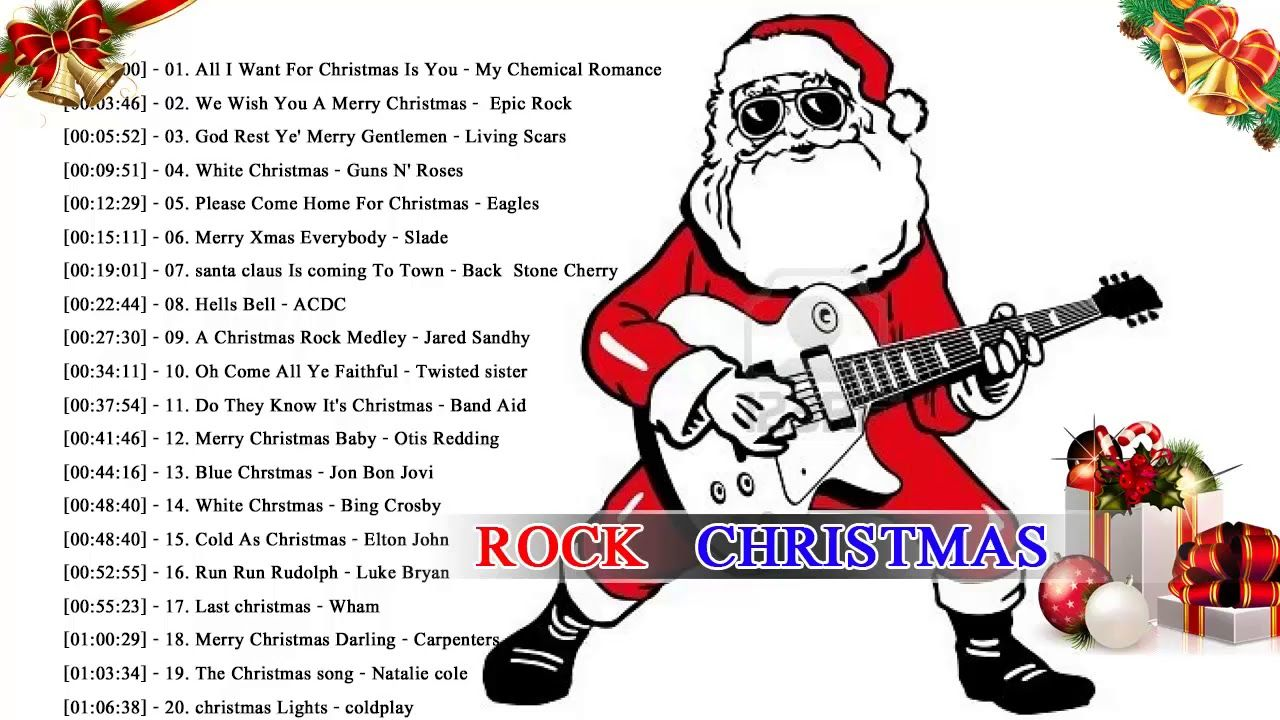 Rock Christmas Songs 2018 ♪ღ♫ Merry Christmas Songs Collection ...