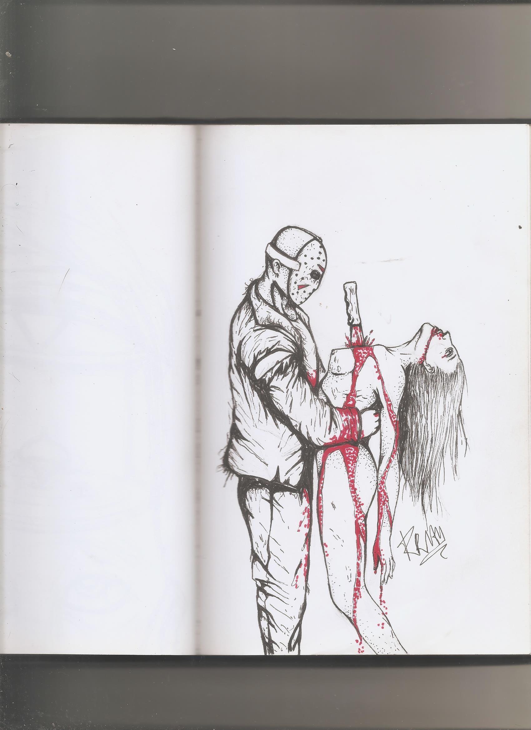 Jason Voorhees Com Imagens Desenhos Rabiscos