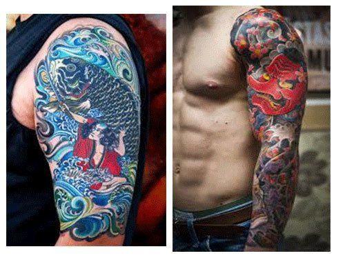Tattoo Brazo Hombre Japones tatuajes japoneses para hombres en el brazo | tattoos | pinterest