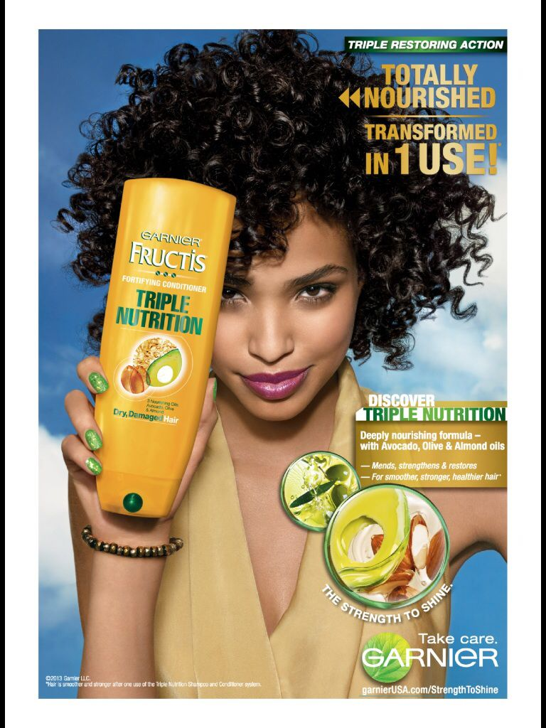 Fructis from Garnier Advertising Haircare advertising