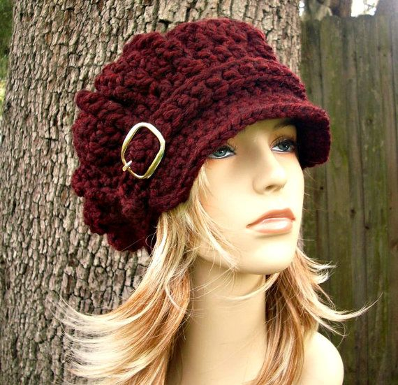 Instant Download Crochet Pattern Hat Crochet Pattern por pixiebell ...