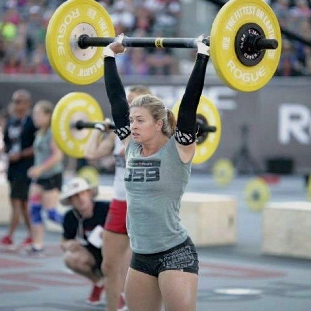 115#? plus fat bar!!! crossfit games athlete